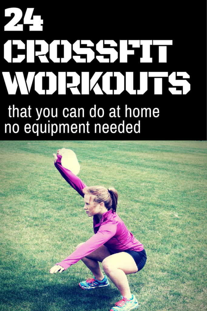 24 Crossfit workouts at home