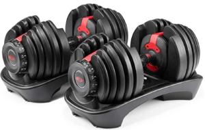Adjustable dumbbell set - fitness gift idea