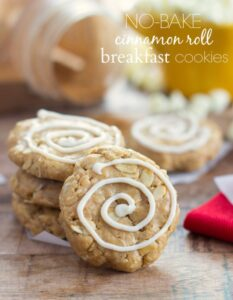 Chelsea's Messy Apron Protein Cinnamon Roll Breakfast Cookies Recipe