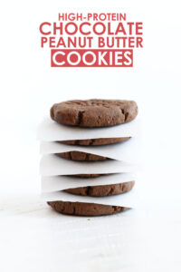 Fit Foodie Finds Chocolate Peanut Butter Cookies Recipe