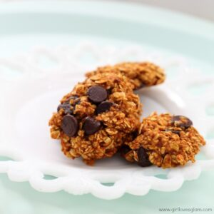 Girl Loves Glam Healthy Pumpkin Chocolate Chip Protein Cookies Recipe