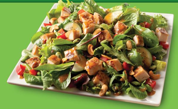 Healthy Food at Wendys