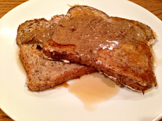 Healthy French Toast Recipe - With Almond Butter