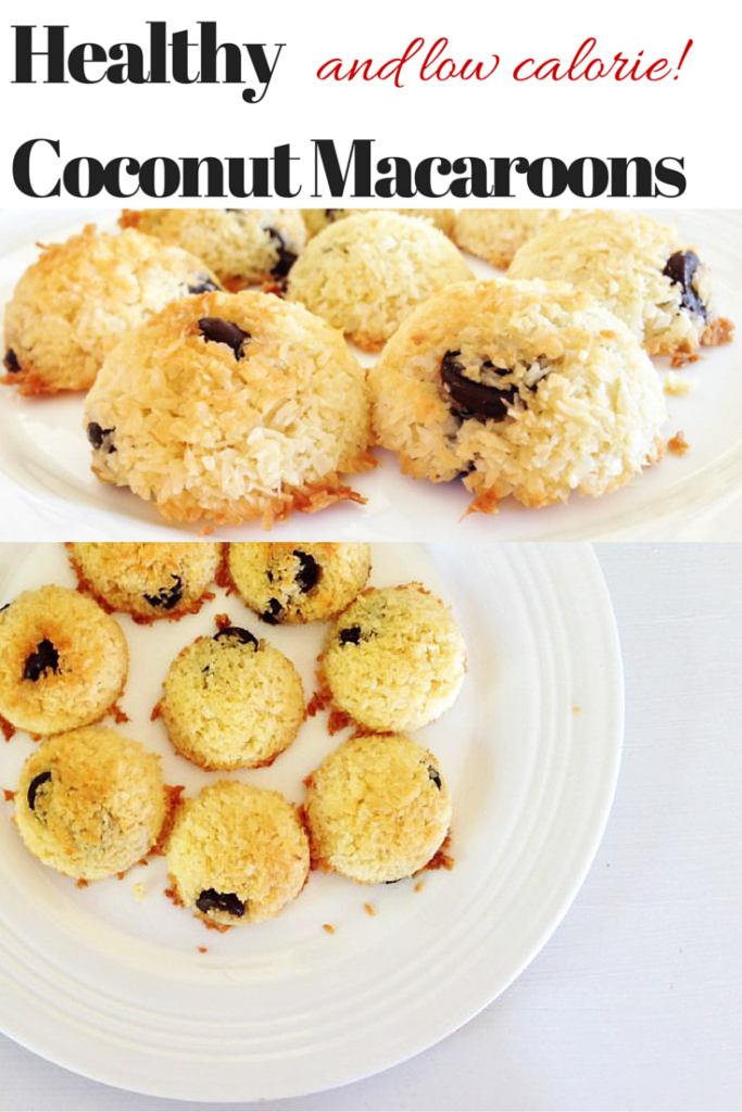 Low Calorie and Healthy Coconut Macaroon Recipe Hero
