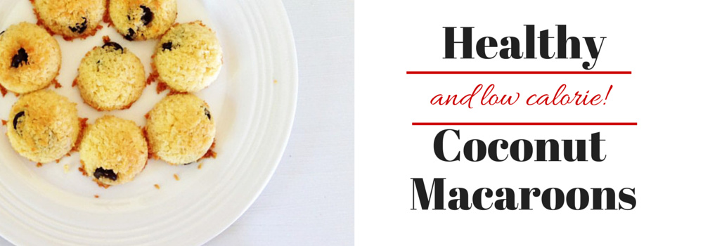 Low Calorie & Healthy Coconut Macaroons Recipe