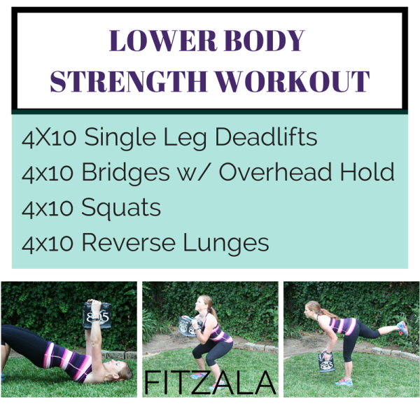 Lower Body Strength Training At Home Without Equipment