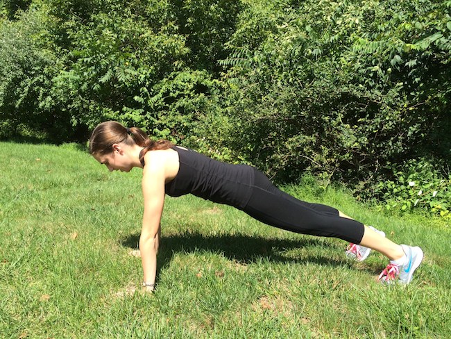 planks for running strength training