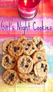 Simply Taralynn's Dark Chocolate Banana Oatmeal Cookies Recipe