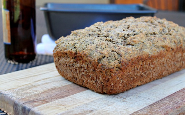 Wheat Flax Beer Bread Recipe